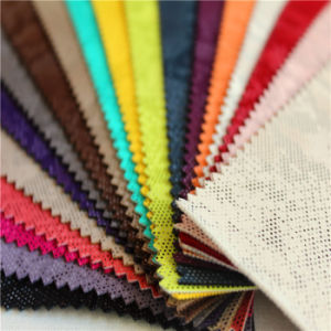 Embossed PU Artificial Leather for Shoes (wscy-247)