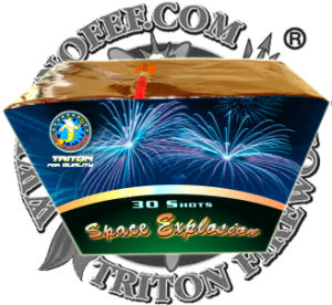 Classical Brocade Crown 130 Shots Fan Shape Cake Fireworks pictures & photos