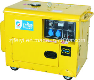 Fy5500dg Diesel Silent Generator with 186fa Engine pictures & photos