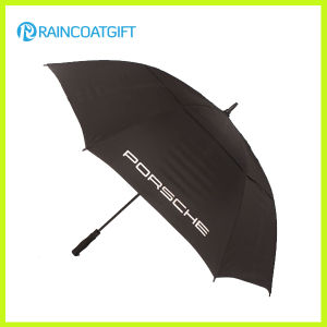 High Quality Windproof Auto Open Straight Golf Umbrella pictures & photos