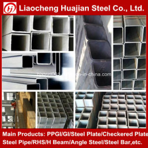 Common Carbon Square and Rectangular Steel Pipe with SGS Certificate pictures & photos