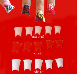French Nail Tip (RNTIP-024) pictures & photos