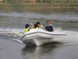 Liya 4.3m Speed Inflatable Fiberglass Hull Boat pictures & photos