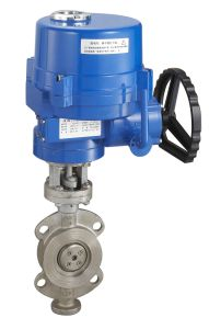 Electric Metal Seal Butterfly Valve with Explosion-Proof Electric Actuator pictures & photos