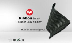 Ribbon Flexible LED Tiles Rubber Soft LED Screen pictures & photos