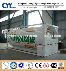 LPG LNG Lox Lin Lar Lco2 ISO Tank Container pictures & photos