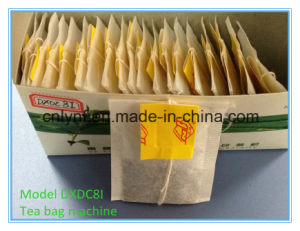 High Speed Single Chamber Tea Bag Packing Machine with Box Device System (DXDC8I) //30 Years Factory for Tea Bag Packing Machine// pictures & photos