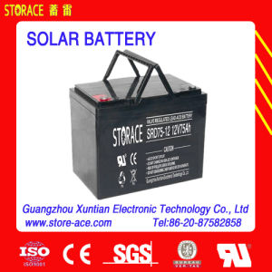 Solar Battery 12V 75ah Made in China pictures & photos