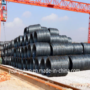 ASTM AISI Standard SAE 1006/1008/1010 Steel Wire Rod 10. mm pictures & photos