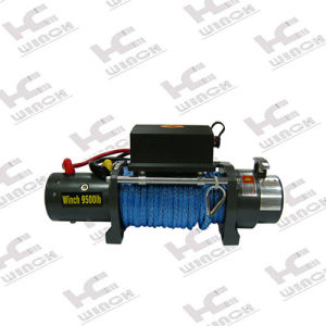 12000lb Truck Electric Winch with Synthetic Rope pictures & photos