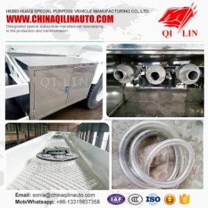 2017 Hot Aluminum 45m3 Fuel Tank Semi Trailer pictures & photos