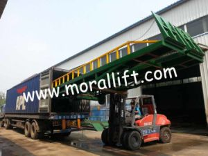 12 Tons Load Capacity Stationary Dock Ramp Lift pictures & photos