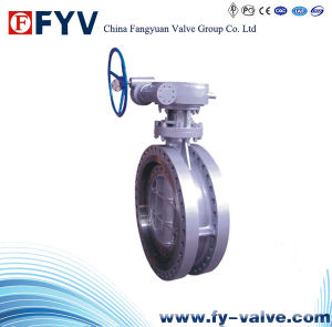 API 609 Three Eccentric Metal Seal Butterfly Valve pictures & photos