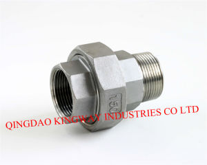 Stainless Steel Pipe Fitting of Union, M/F pictures & photos