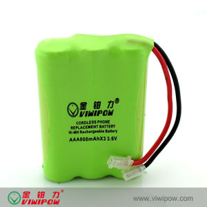 Hot Selling Low Self-Discharge Ni-MH Battery Pack (VIP-AAA800)