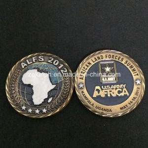 Customized Army Metal Challenge Coins for Recognition pictures & photos