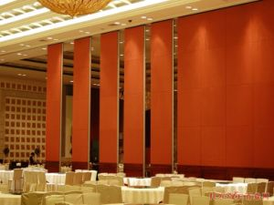 China Acoustic Interior Decorative Panel Movable Partition Wall for Hotel