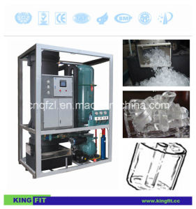 Kingfit 1 Ton Fully-Automatic Tube Ice Maker pictures & photos