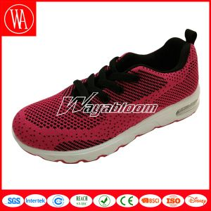 Comfort Mesh Lace-up Kids Sports Shoes