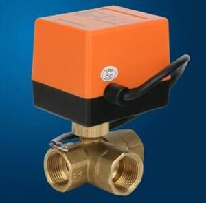 3-Way Motorized Ball Valve (BS-868S-25) pictures & photos