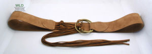 Fashion Lady′s Fake Suede Belt Ky5921 pictures & photos
