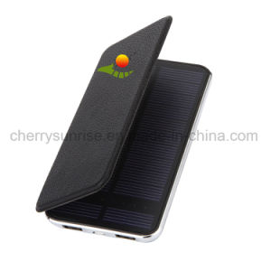 2017 latest Design Polymer Battery Mini Waterproof 10000mAh Solar Power Bank pictures & photos