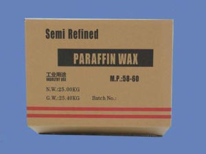 Semi Refined Paraffin Wax 56-58 for Making Candle pictures & photos