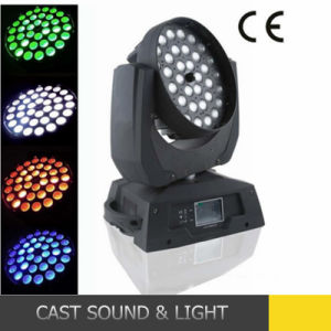 36X18W Rgbawuv Stage Disco LED Moving Head Zoom pictures & photos