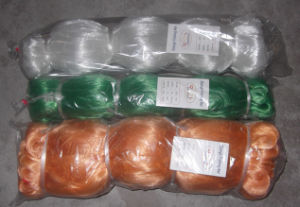 Colored Nylon Multifilament Single Knot Fishing Net pictures & photos