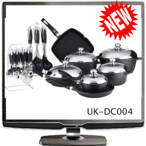 Die Casting Cookware ,Outdoor Cookware Set (UK-DC004)