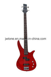 Quilted Maple Top 4string Electric Bass Guitar pictures & photos
