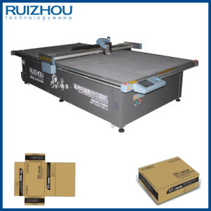 CNC Corrugated Board Box Sample Cutting Machine pictures & photos