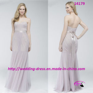 Fresh Pure Fit-and-Flare Evening Bride Dress with Sweetheart pictures & photos