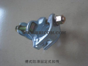 Galvanized German Type Skidproof Fixed Coupler 48.3X48.3 pictures & photos