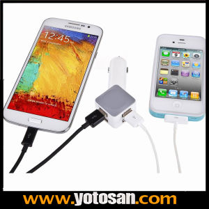 Wholesale Universal 4-Port USB Car Charger for All Smartphones and Cellphones Which Use USB for Charging pictures & photos
