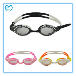 Discount Prescription Water Proof Silicone Kids Swimming Goggles pictures & photos