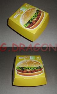 13cmx4cm Set of 6 Prefolded Boxes Burger Boxes (BB006) pictures & photos