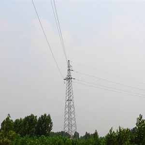35kv Power Transmission Lattice Tower (tension tower) pictures & photos