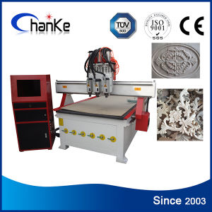 CNC Woodworking Machine with 3D Rotary Axis pictures & photos