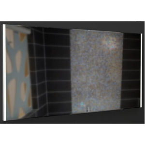 Aluminium Frame Mirror with Light in Two Flanks pictures & photos