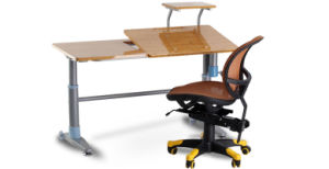 Adjustable Height Kids Study Table and Chair pictures & photos