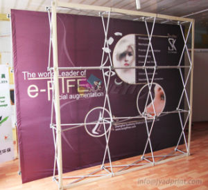 Good Quality Sublimation Printing Fabric Stage Backdrop/Pop Up Banner pictures & photos