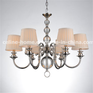 Iron Crystal Chandelier with VDE Certificate (SL2010-6) pictures & photos
