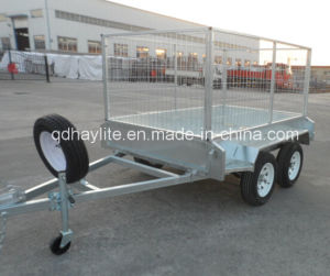 Hot Sell Double Axles Cage Tandem Box Trailer pictures & photos