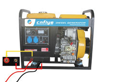 Fy5500 Electric Single Three Professtional Diesel Welder Machine
