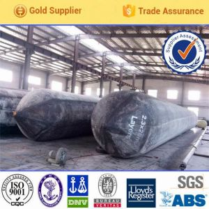 High Strength Inflatable Hoisting Rubber Airbag