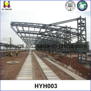 China prefabricated roof tube steel truss china steel for Prefab trusses prices