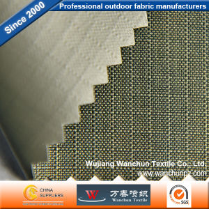 Polyester Little Lattice 600d Oxford PVC Fabric for Bag pictures & photos