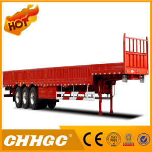 High Strength Steel Semi Trailer with Side Wall pictures & photos