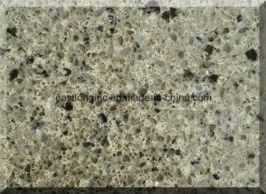 Double & Multiple Color Artificial Quartz Stone Countertop pictures & photos